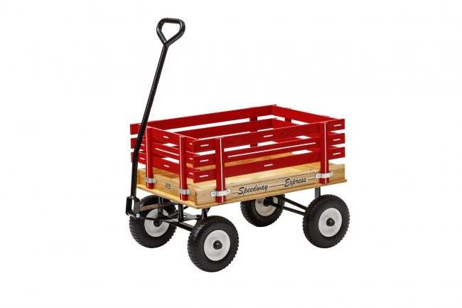 110 kids pull wagon