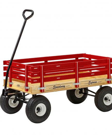 500 kids play wagon