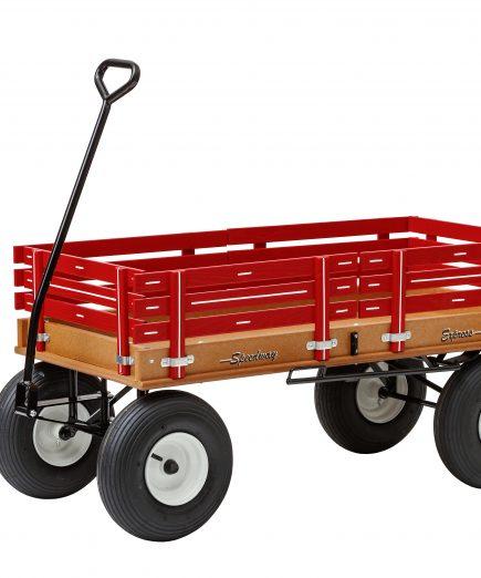 620 kids red wagon