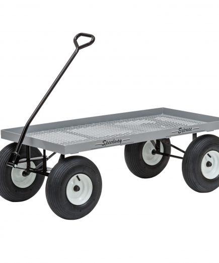 680 aluminum garden wagon