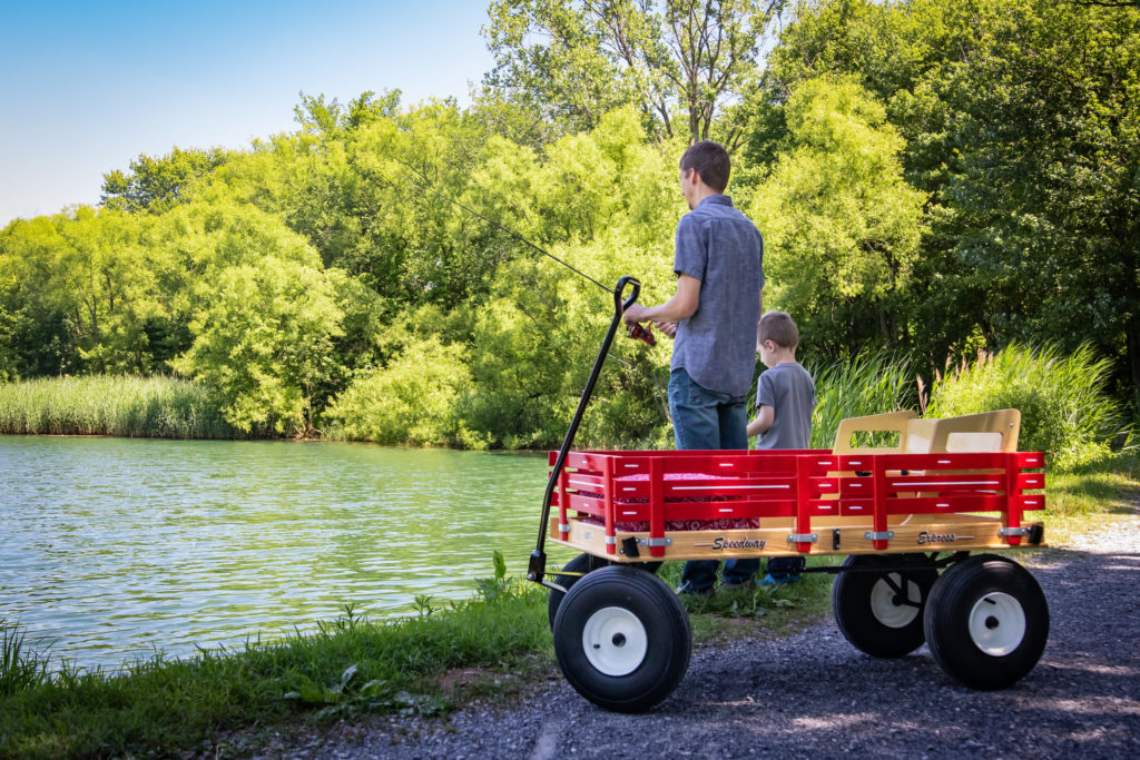 amish lapp wagons for kids