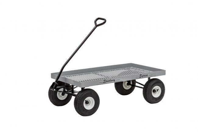 sawtooth tire flat wagon