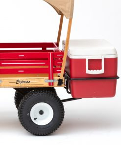 ice chest holder on a play wagon 2