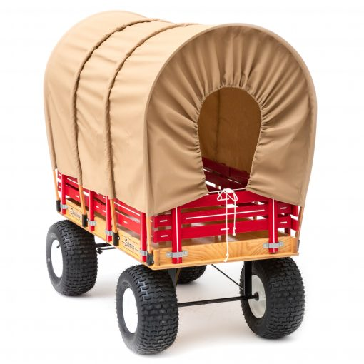 oregon trail type wagon hoop covering