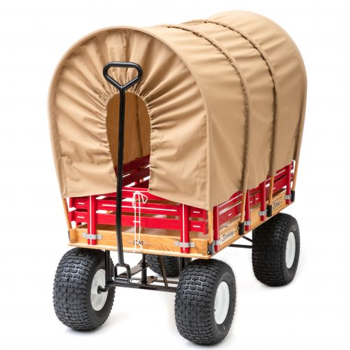 play covered wagon