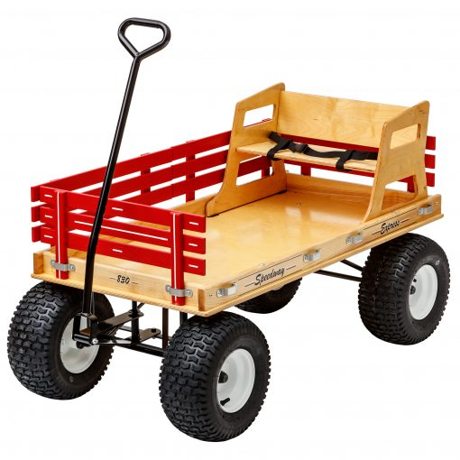 plywood seat for a kids wagon