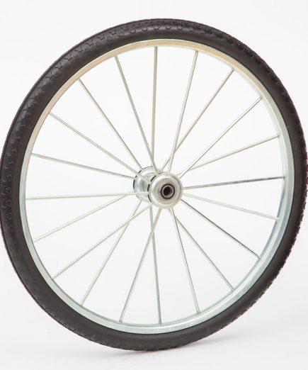 26 inch flat free spoke wheel for cart 26pff34hd