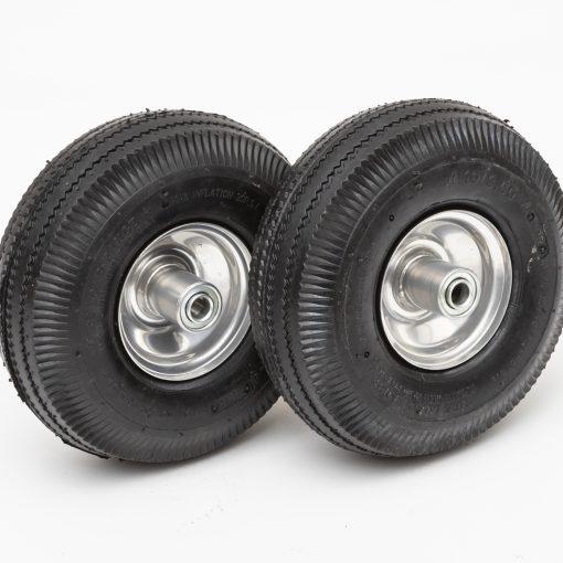 10225swlc 10 4 economy pneumatic wheel 4 10 3 50 4 sawtooth 4 ply 2 25 oc lawn handtruck tire