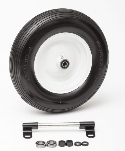 Flat Free Universal Wheelbarrow Wheel