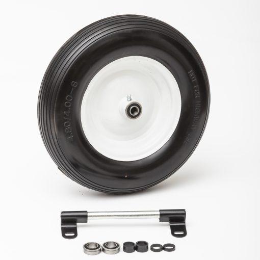 Flat Free Universal Wheelbarrow Wheel