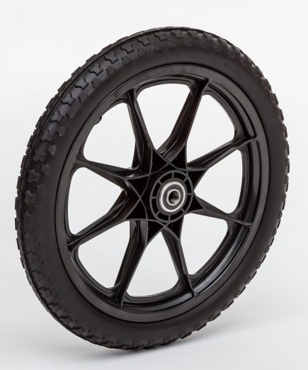 Flat Free Plastic Spoke Wheel