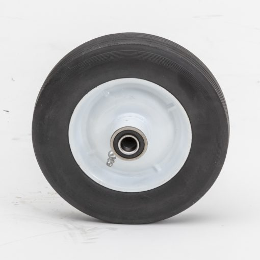 8175h 8 hard rubber wheel 81 75 ribbed 1 3 8 oc appliance washer tire