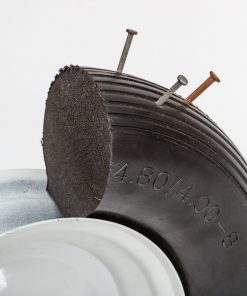 flat free wheelbarrow wheels