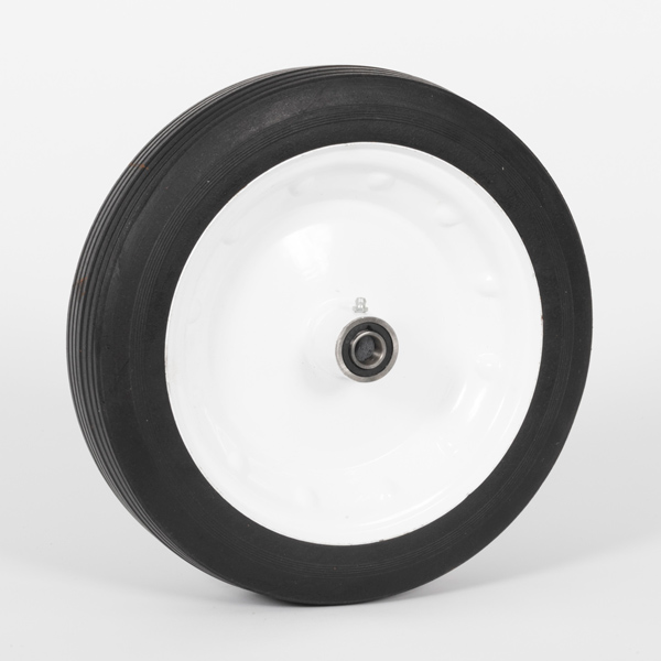 12+3.00 Ribbed Hard Rubber Hand Cart Wheels