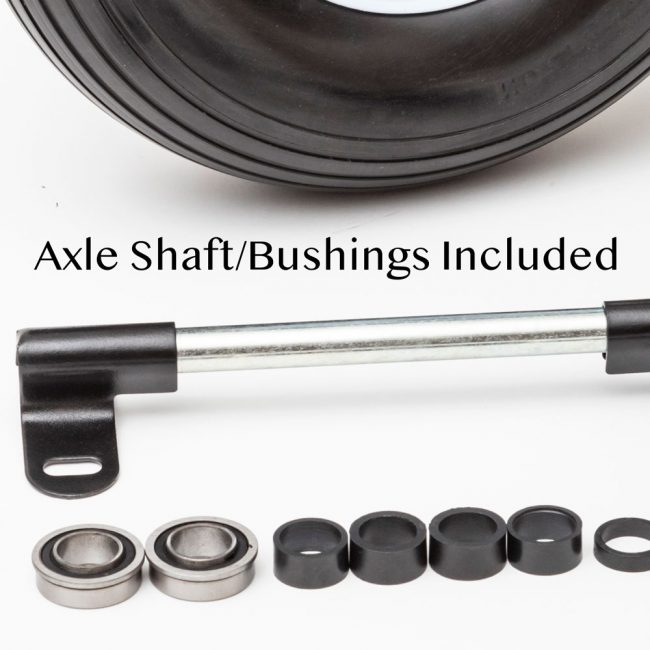 axle shaft for wheelbarrow wheels 1