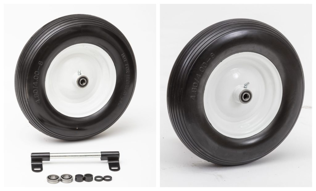 finding the right wheelbarrow wheels