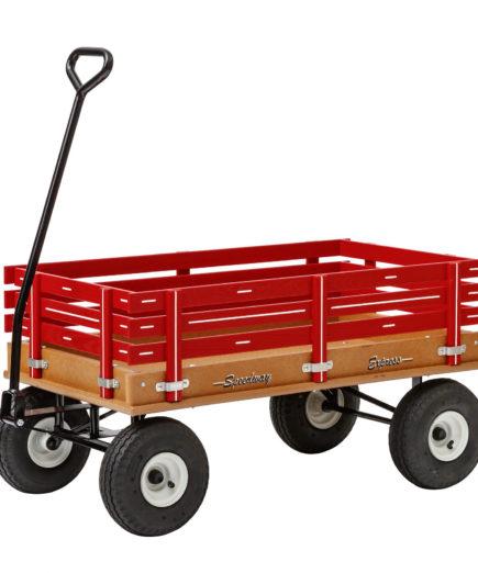 heavy duty poly wagon