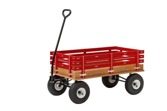 poly garden wagon