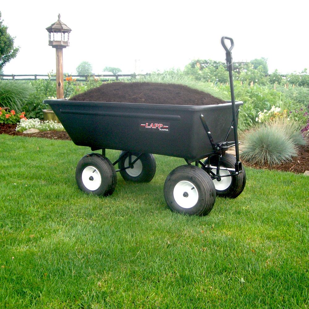 yard and garden work wagon by mulch 1