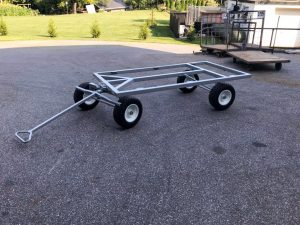 flat wagon cart for roofing