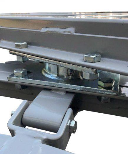 flat wagon cart steering mechanism