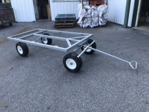 roofing material flat wagon cart