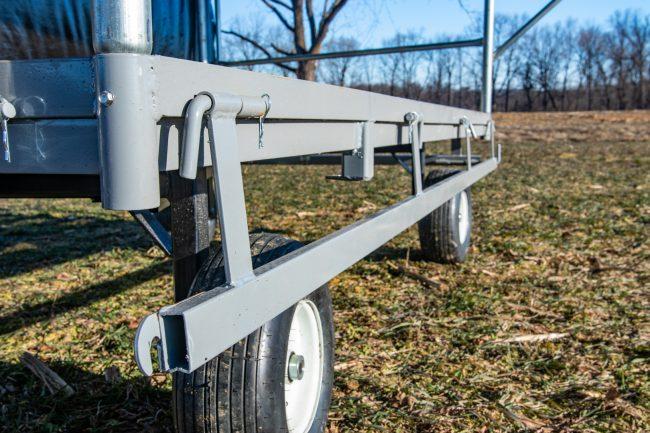 produce wagon side rails