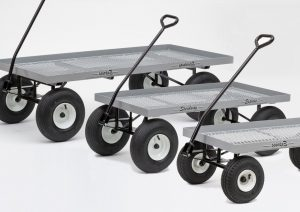three sizes of greenhouse and nursery wagons