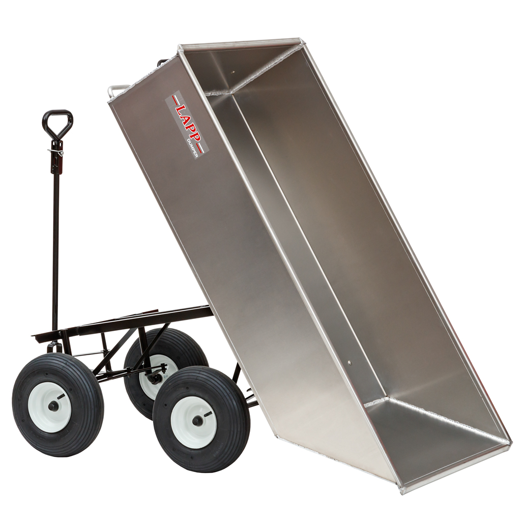 large roofing utility cart